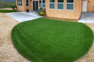 Waterwise turf lawn finished