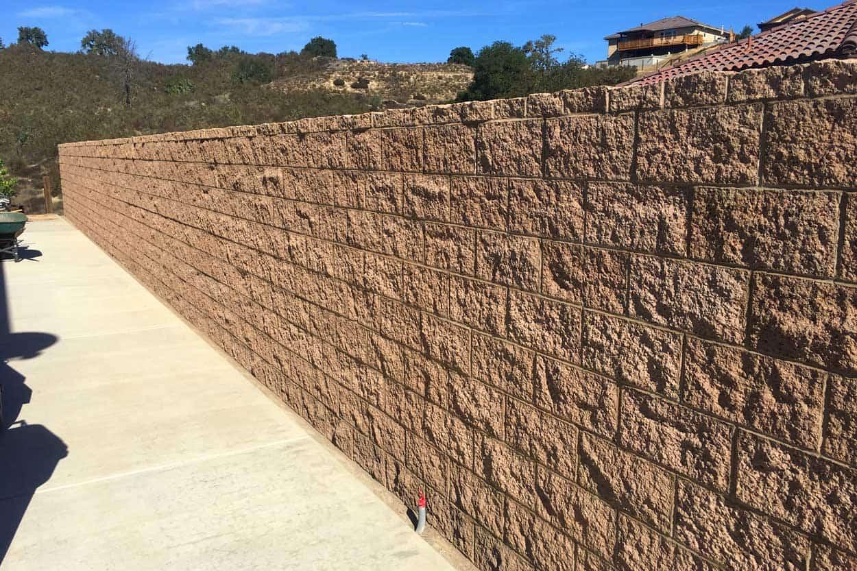 Block Wall Construction : Masonry contractor capps construction concrete