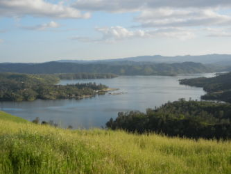 Majestic views of beautiful Lake Nacimiento.