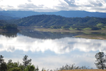 The rolling hills surrounding Lake Nacimiento