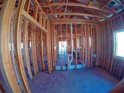 custom interior framing new construction