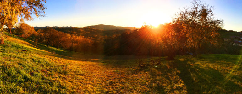 Sunset in Heritage Ranch